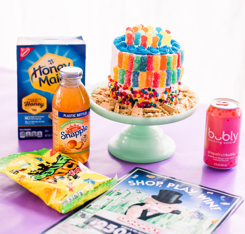 Make A Sour Patch Kids Cake To Win With The Monopoly App