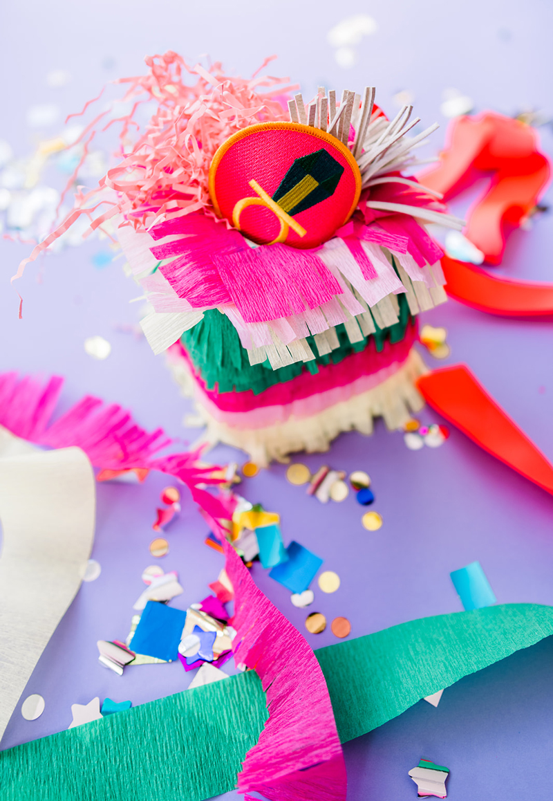 Piñata stuffed with spring break ideas