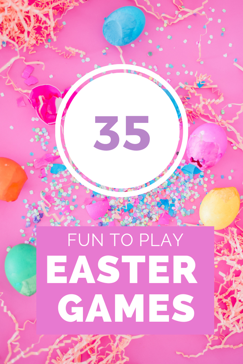 35 Easter game that are fun to play with kids & family