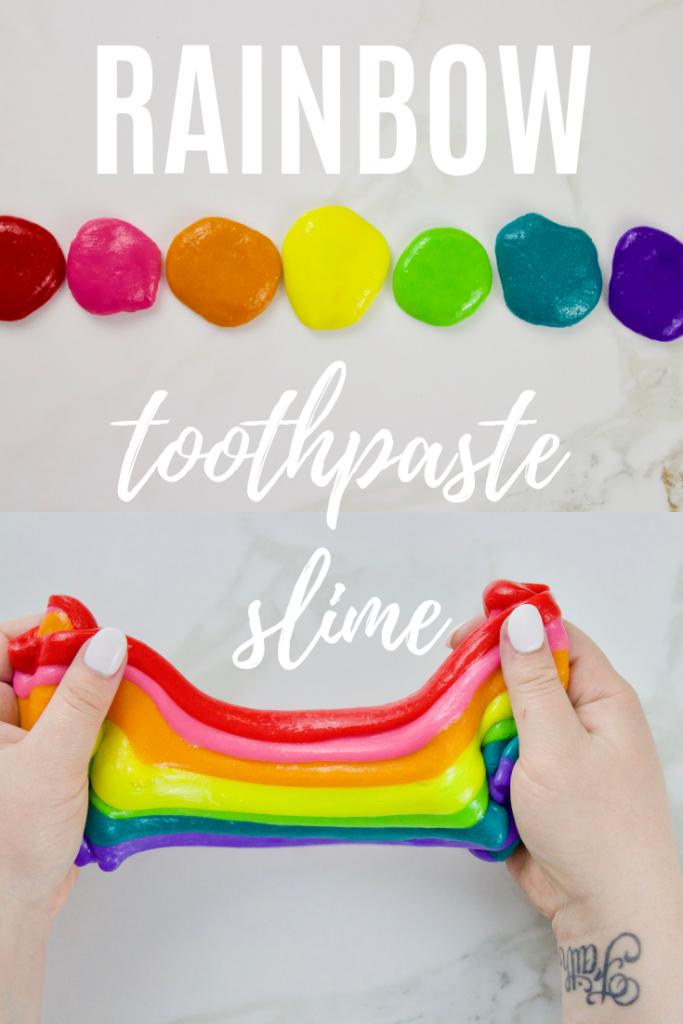 How to make toothpaste slime