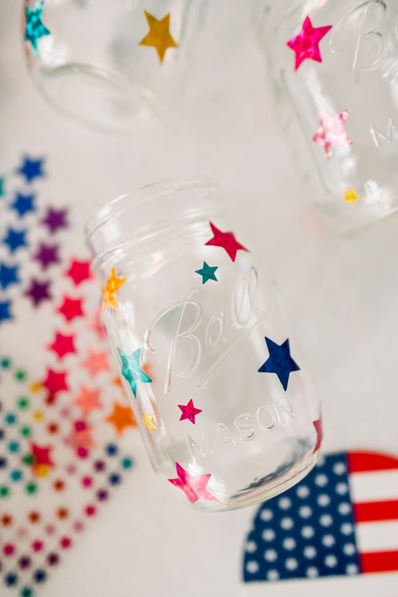 DIY mason jar 4th of July craft