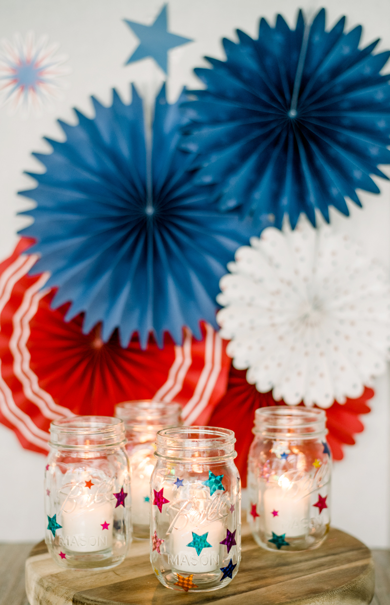 DIY mason jar lanterns Ball jars