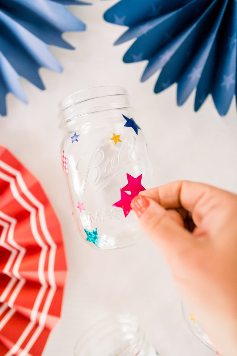 DIY Mason jar lanterns step-by-step