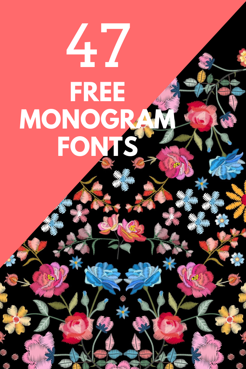 The best free monogram fonts to download today