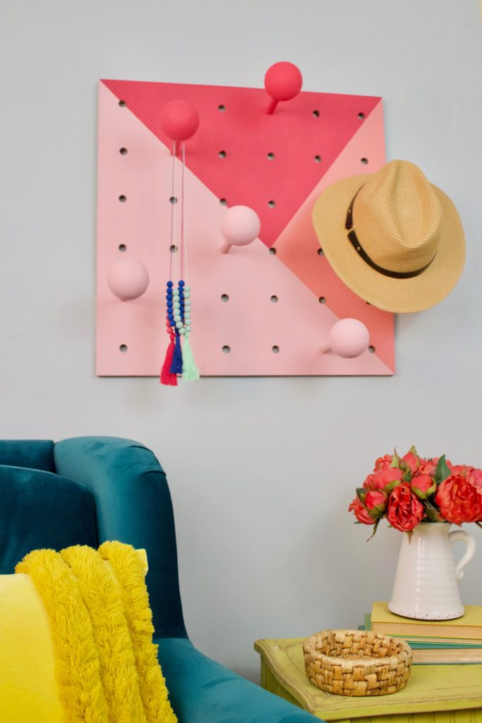 How to make a DIY hat rack