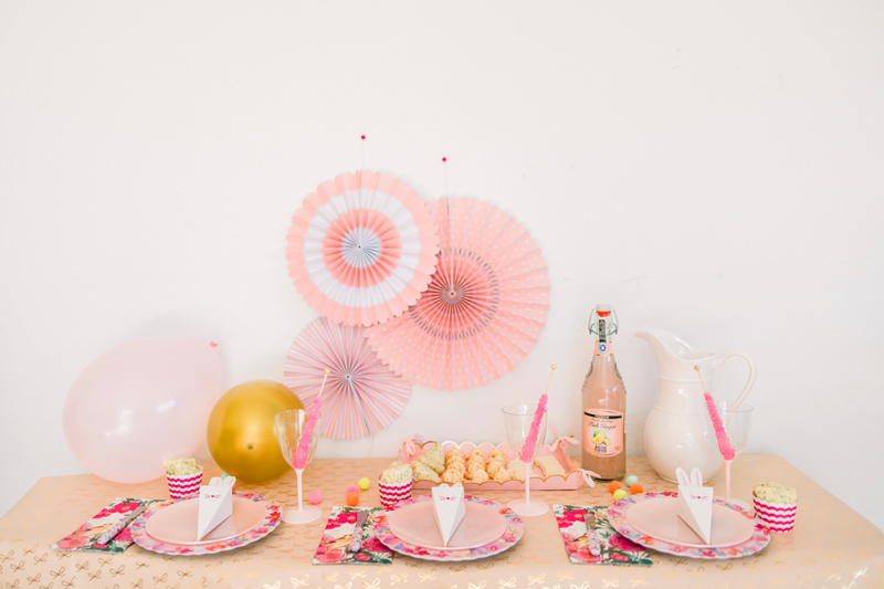 How to create a pink party in under and hour