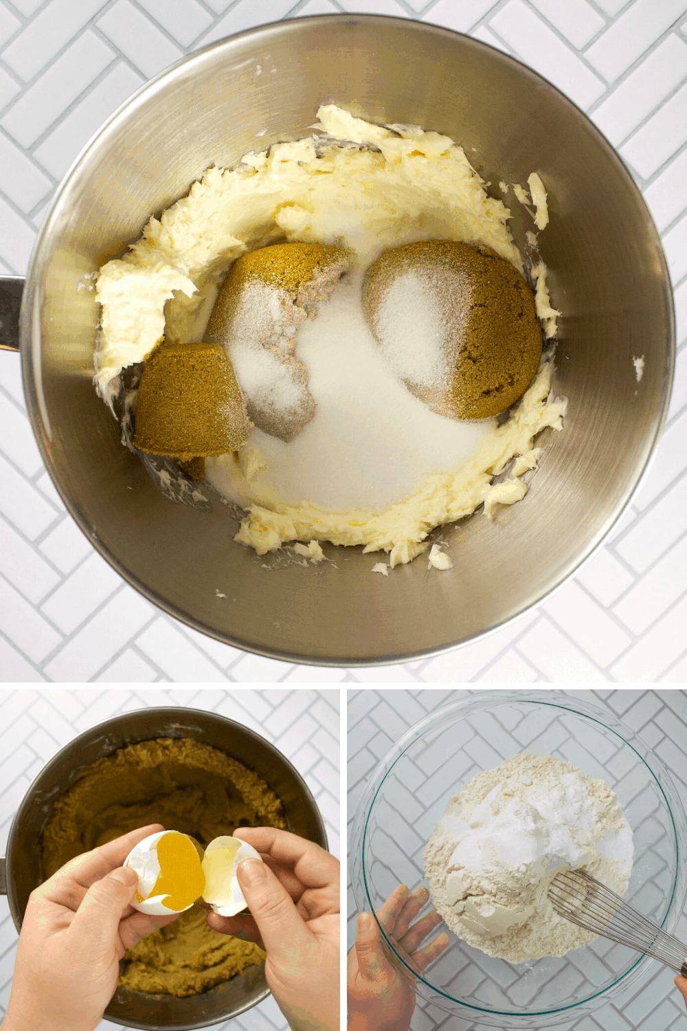 Baking Cookies Step by Step