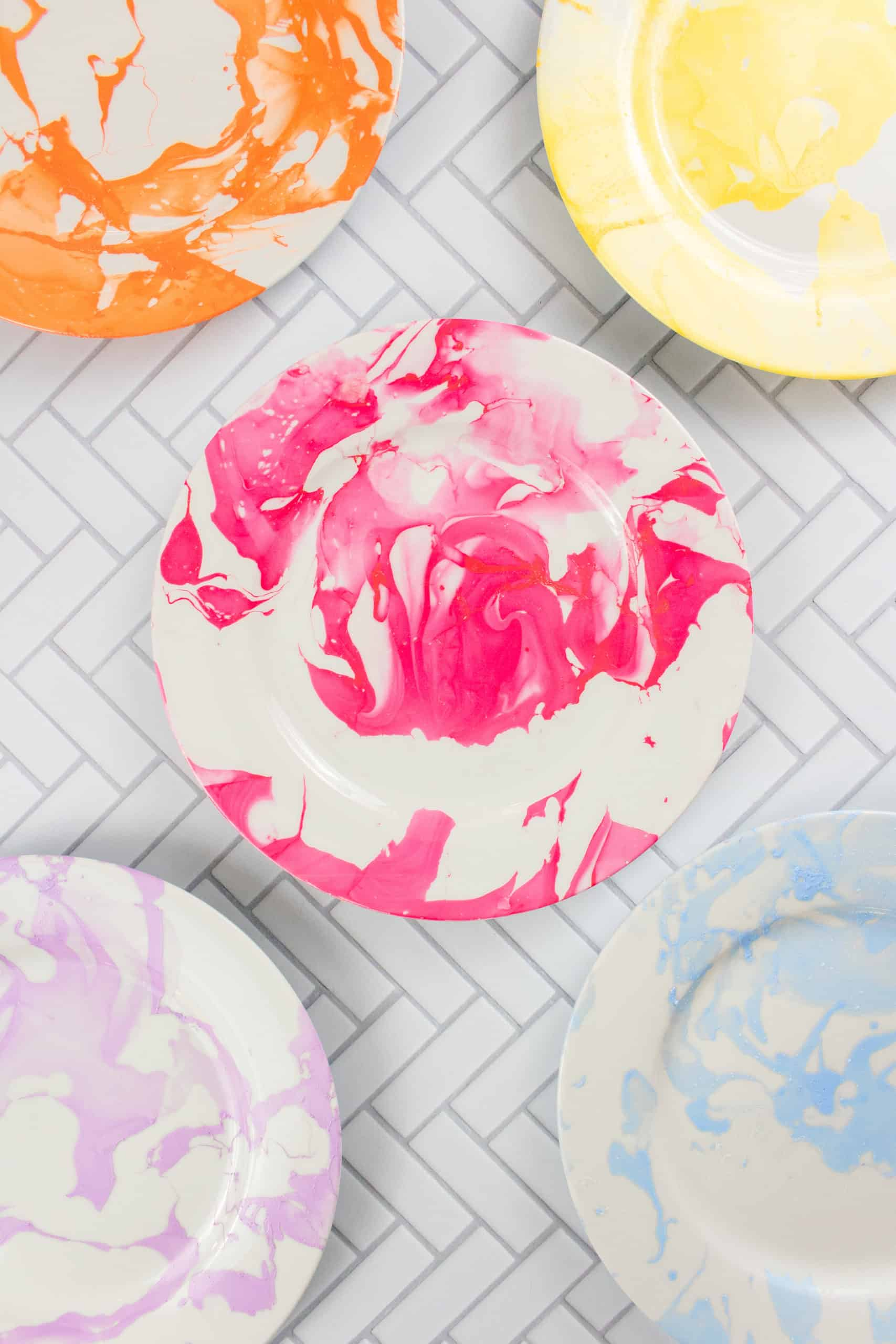 How to Make Marble Plates