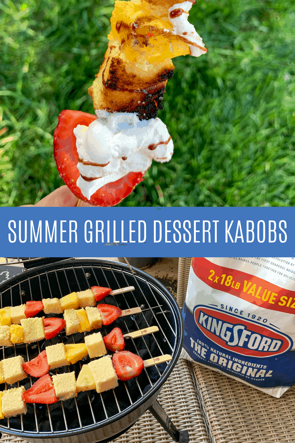 Summer Grilled Fruit Kabobs