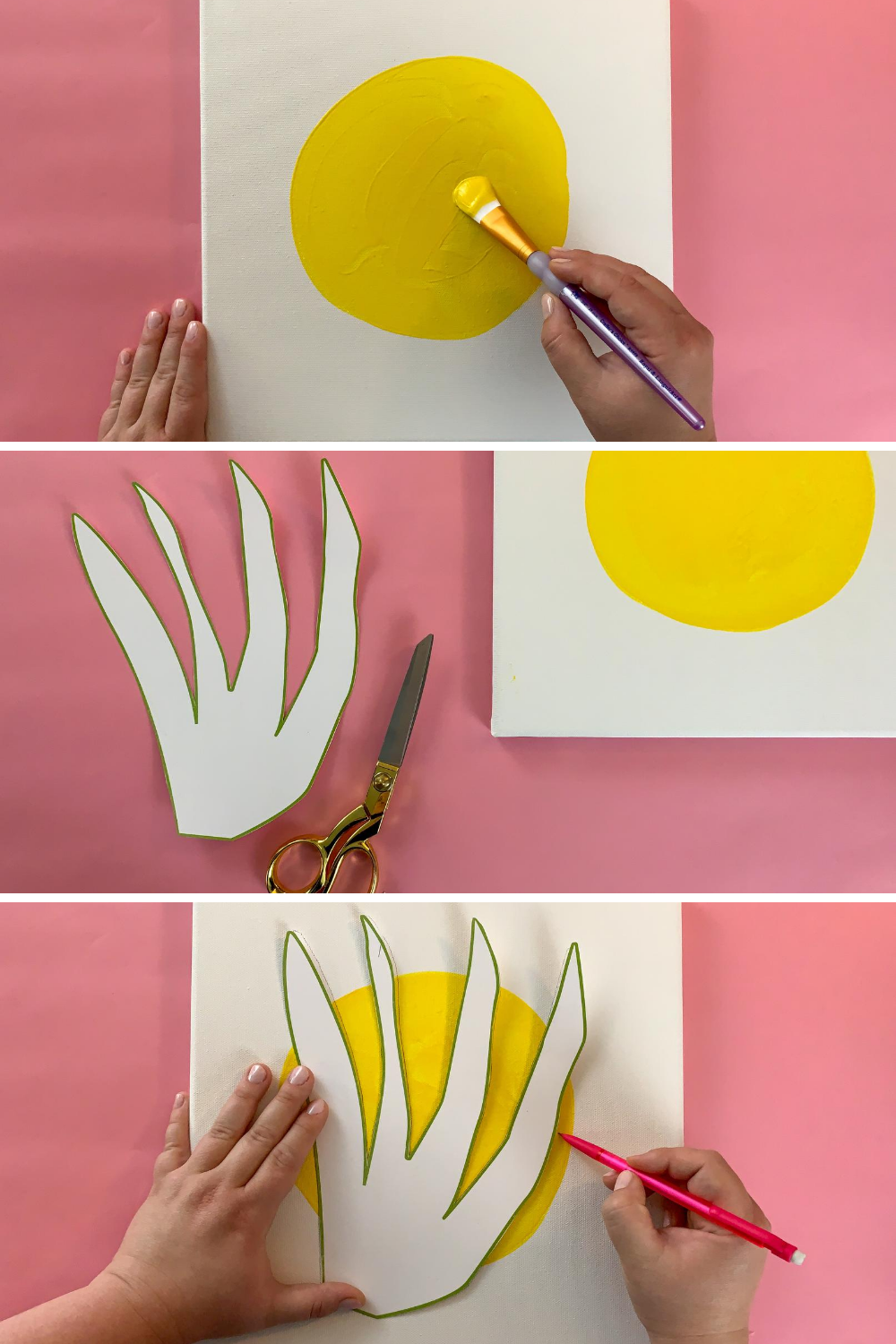 How to make canvas wall art