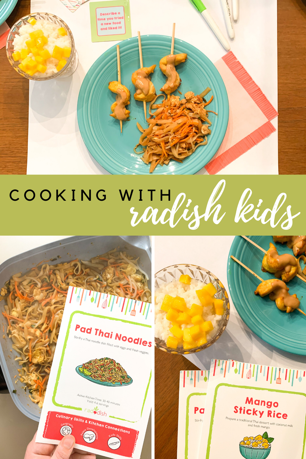 Cooking with Radish Kids