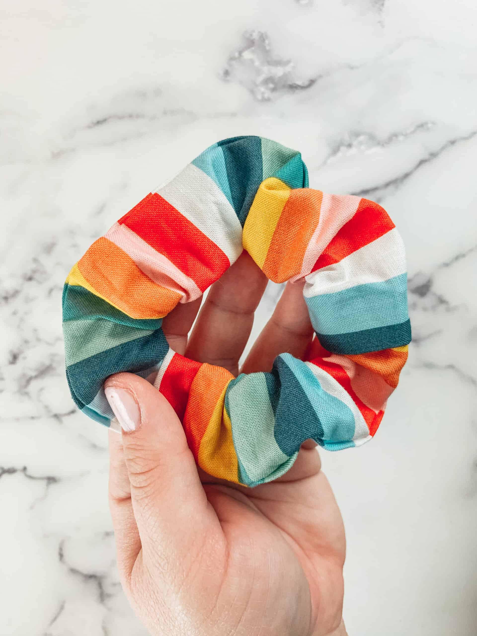 How to Make Scrunchies No Sew