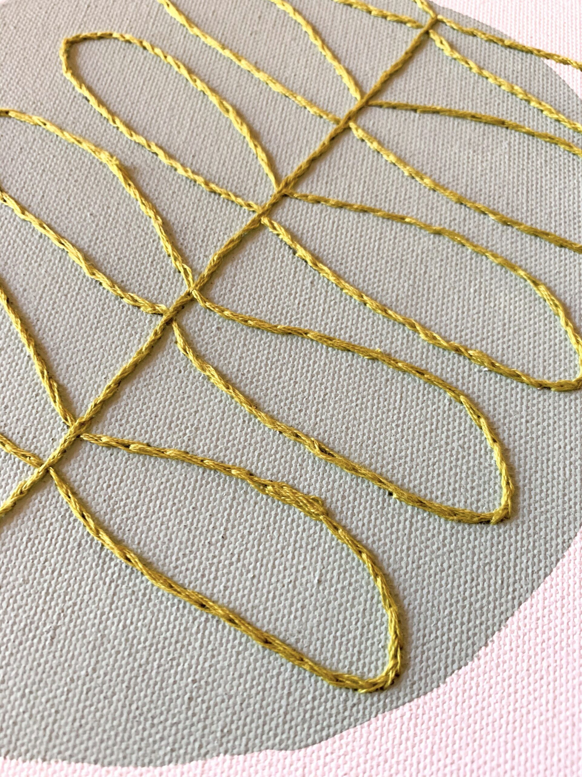 Embroidery Canvas