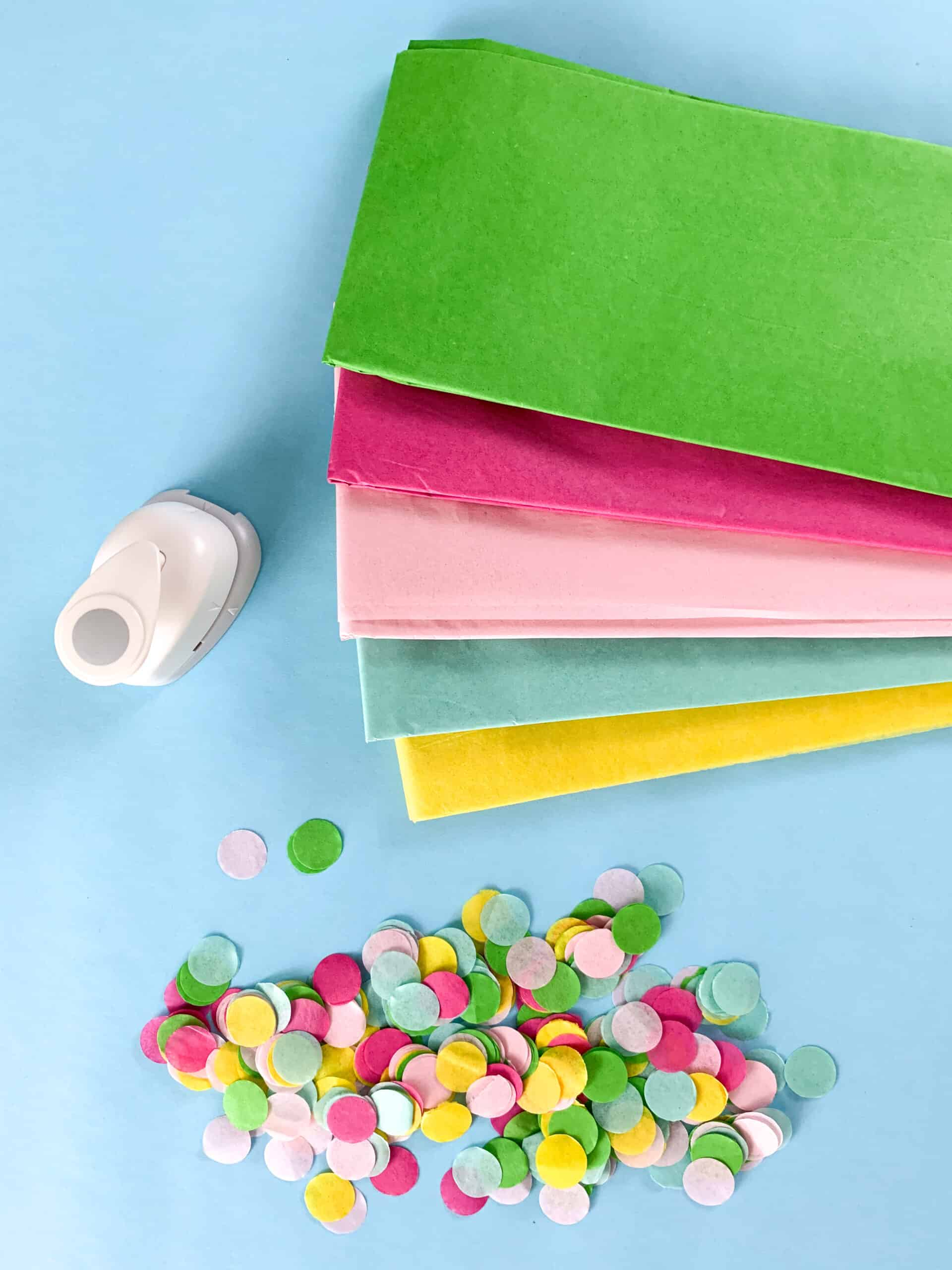 How to make DIY Confetti