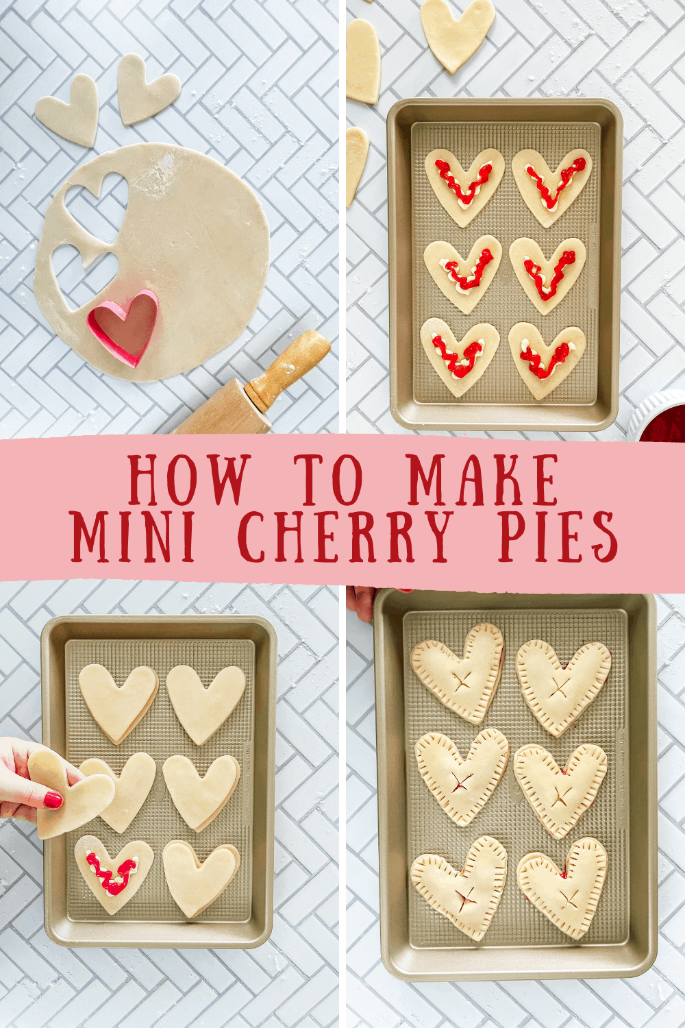 How to Make Mini Cherry Pies